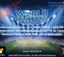 World football consulting organise une détection pour clubs professionnels…