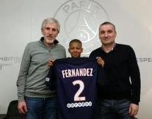FERNANDEZ Nehemiah (AA Sarcelles) signe au PSG…