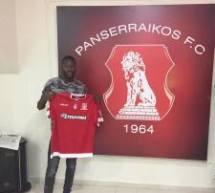 Louis Mafouta (AS Saint ouen l'aumone) signe un contrat professionnel au FC Panserraikos (Grèce)!