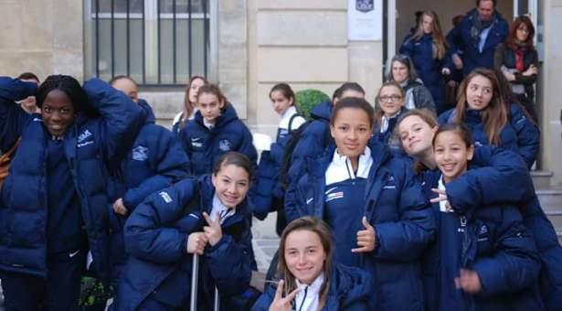 U15 Féminine/Rassemblement régional à Montrouge.