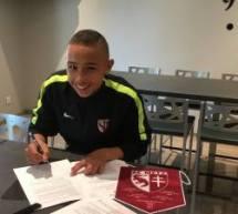 Jordan Monteiro (Fleury mérogis) signe au FC Metz!