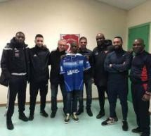 Mathieu BIKOUTA (US Grigny-U13) signe à l'AJ Auxerre!