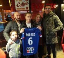 Sabri DURAND (Red star 93-U15DH) signe au RC Strasbourg!