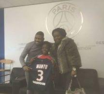 Contenu sponsorisé/Vimoj MUNTU (FC Melun-U13) signe au PSG!