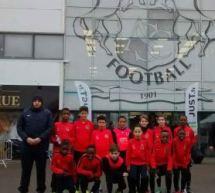 Partenariat Panamefoot/Les U11 et U12 de l'US Villejuif  au Centre de formation du SC Amiens!