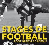 Stage Football/Il reste encore quelques places pour les stages FOOT-BREIZH-ACADEMIE!