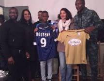 MOUYEME  Theo (RFC Argenteuil-2004) s'engage à l'ESTAC sous la présence de Gianelli IMBULA (Toulouse FC)!
