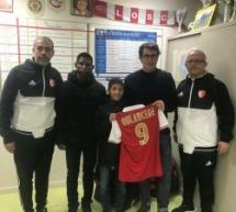 Anas OULAHCENE (COM Bagneux) s'engage au Stade de Reims!