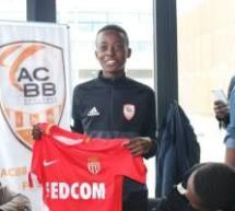 Un jeune joueur de l'ACBB Ritchy VALME signe à l'AS Monaco!