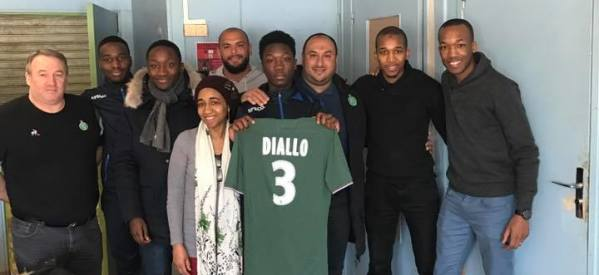 DIALLO Thierno (FC Montfermeil-2003) intègre le centre de formation de l'AS Saint Etienne!