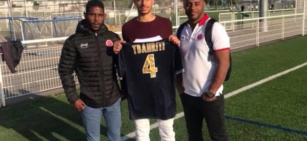 Fff Signature Club Pro Tbahriti Redouane 2003 Fc Montfermeil